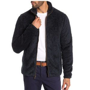 Weatherproof Black Faux Fur Zip Jacket